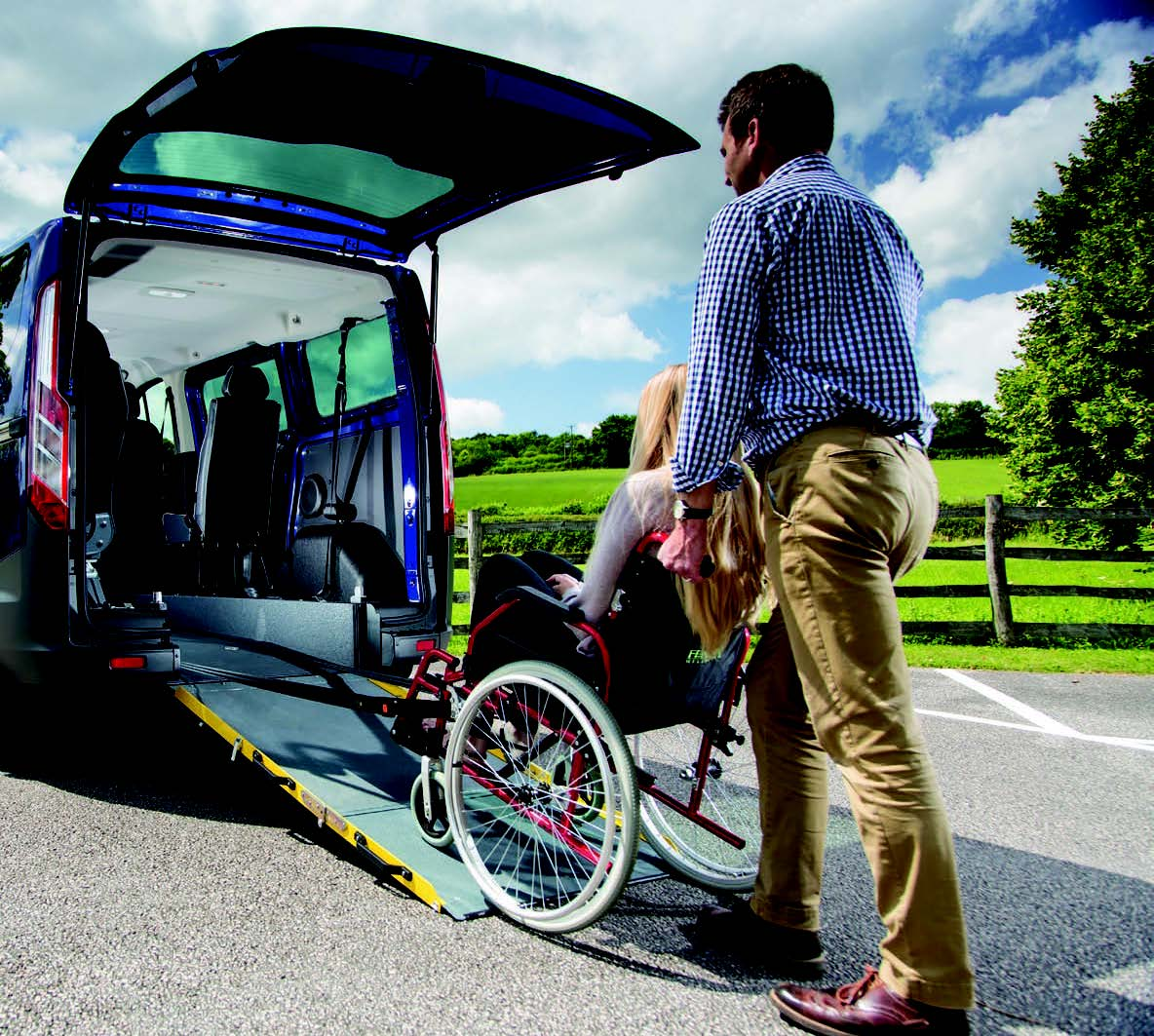 Wheelchair Accessible Vehicle Kit