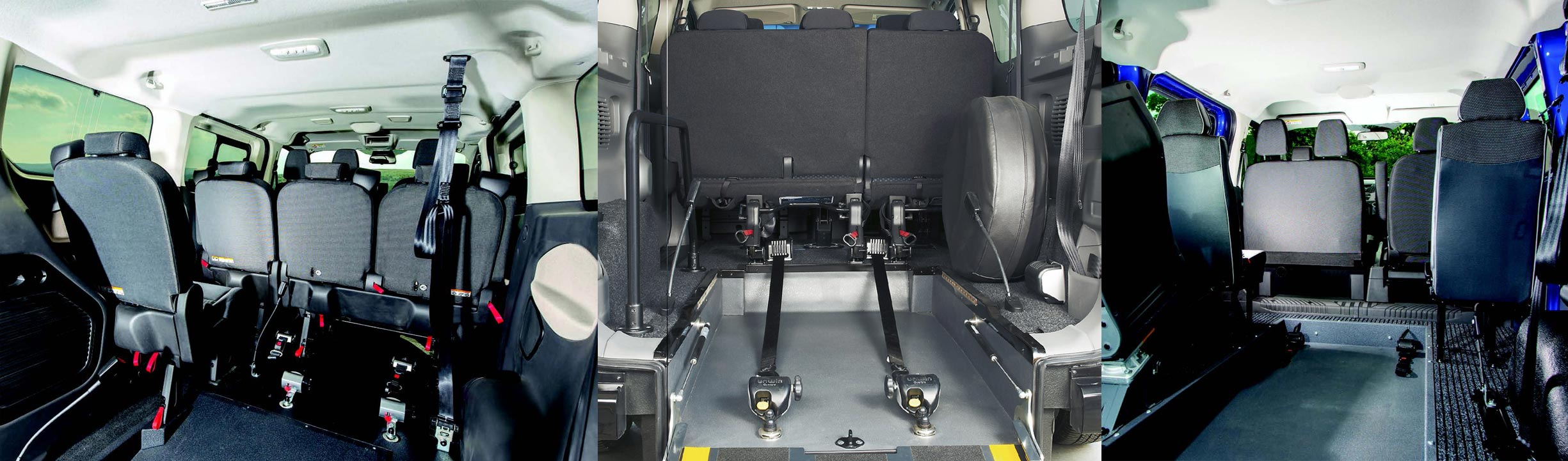 Wheelchair Accessible Vehicle Kit inside