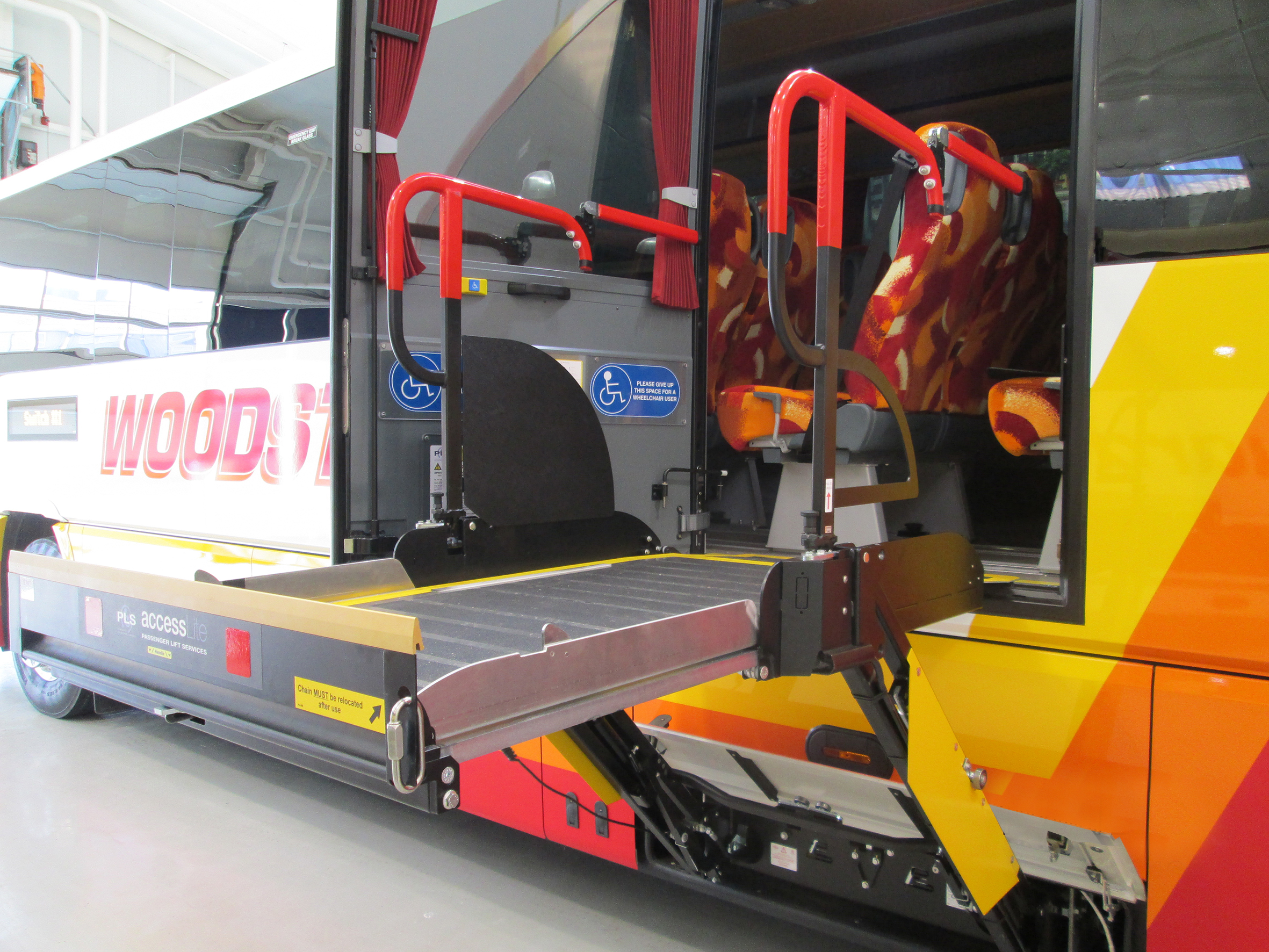 Latest PLS wheelchair passenger lift delivers highest lifting