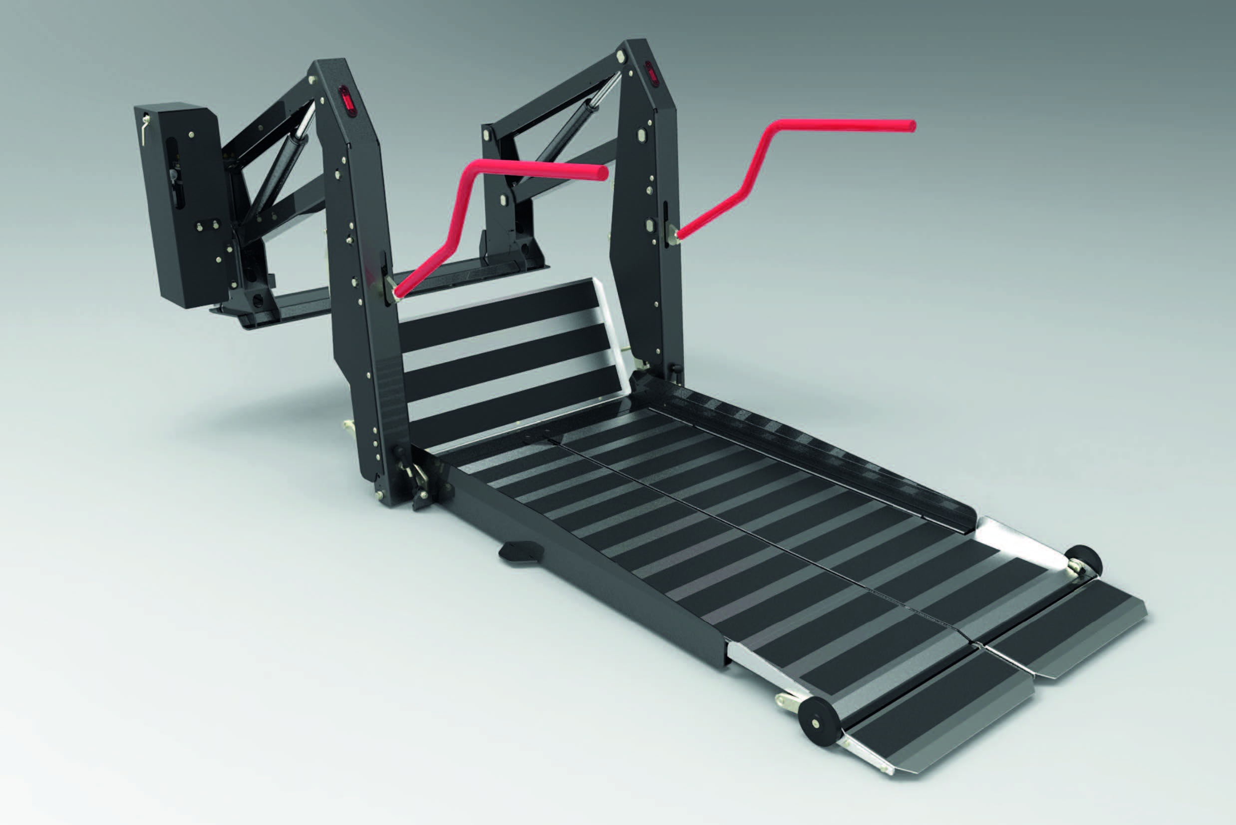 Cassette wheelchair lift