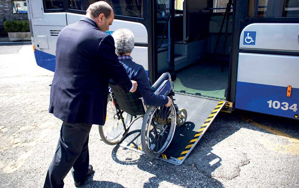Accessibility products for City Buses & Coaches