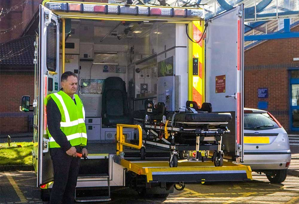 Accessibility products for Emergency Vehicles
