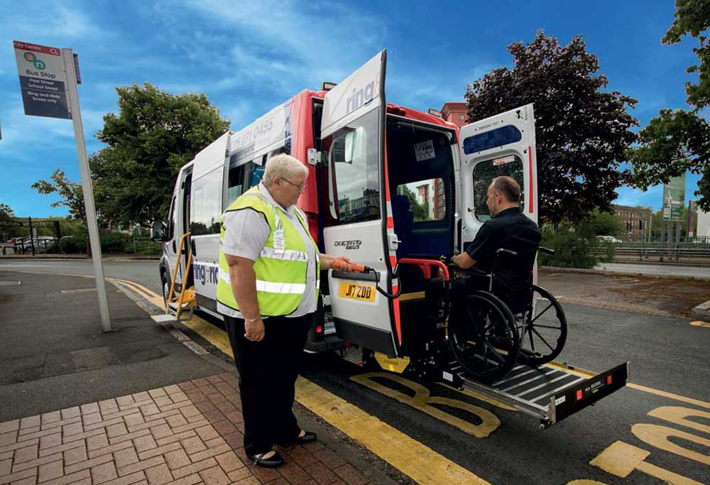 Accessibility products for Mini & Midi Buses